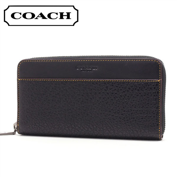 online store a8ad9 dad7e Coach long wallet Lady's COACH Wallet black F12130 BLK