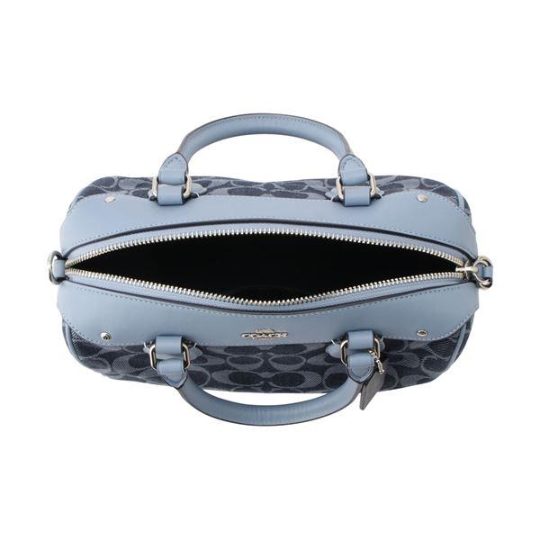 f6269093b0c50 MKcollection: Coach shoulder bag Lady's COACH denim signature denim ...
