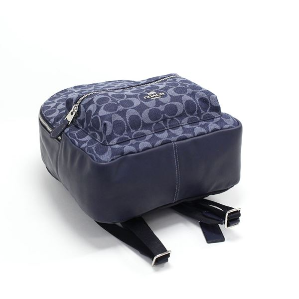 e0d34c692cb8d MKcollection: Coach rucksack Lady's bag COACH backpack denim ...