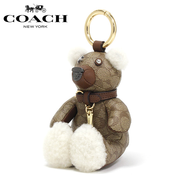 コーチ キーホルダー レディース COACH charm カーキ F77676 GDKHA 【送料無料♪】