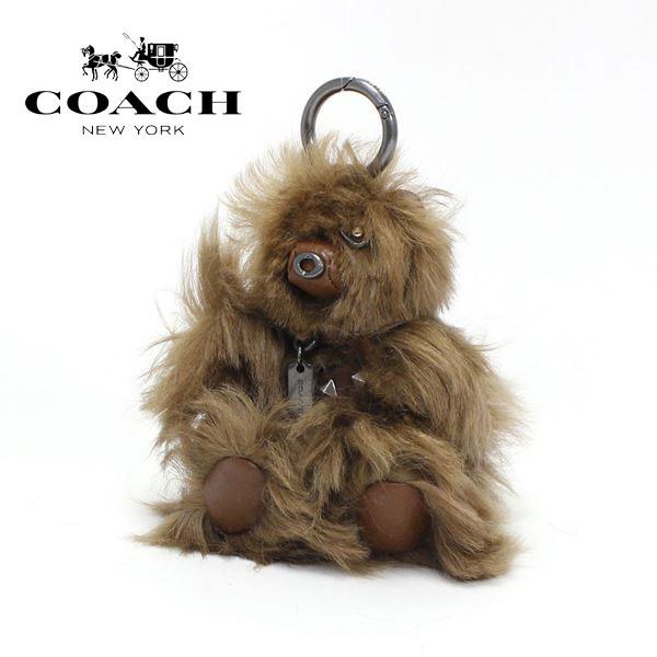 コーチ キーホルダー COACH key ring ブラウン F88048 QBCWH 【送料無料♪】