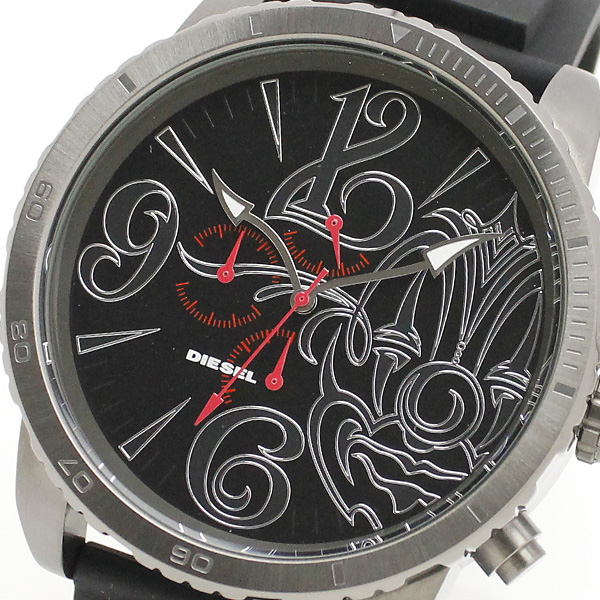 Diesel watches mens world limited 3800 book model Mister cartoon Edition DIESEL watch DZMC0001 0824 Rakuten card splitter 02P01Oct16