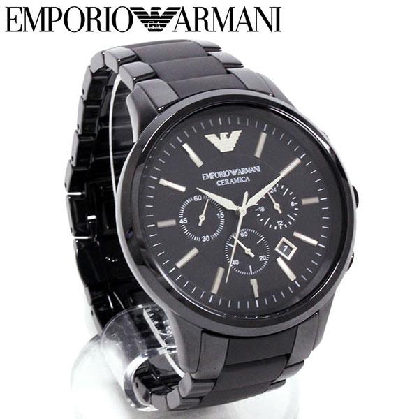 new arrive cute best online Emporio Armani watch men EMPORIO ARMANI Mika Sera black clock ceramic AR1451