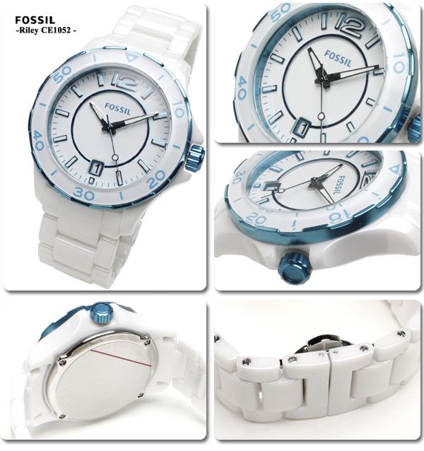 フォッシル FOSSIL clock unisex CE1052 0824 Rakuten card division 02P01Oct16