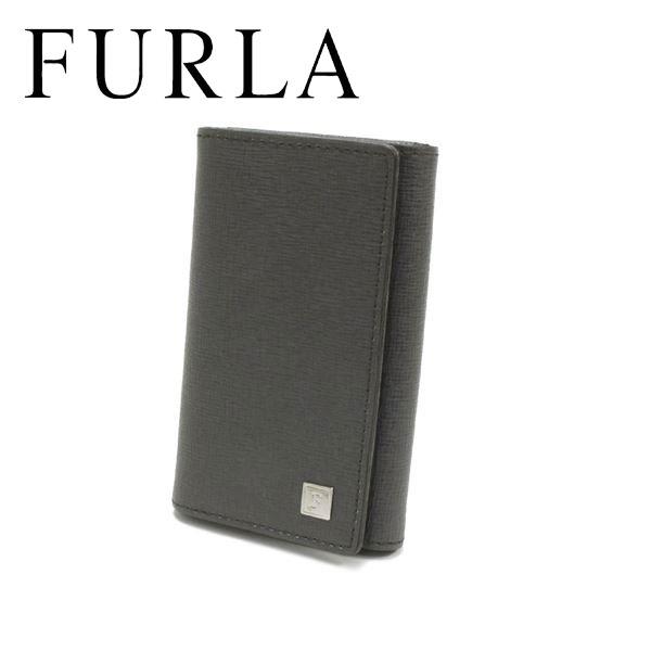 フルラ キーケース メンズ レディース FURLA key case グレー 48B30SK1 LVA 【送料無料♪】