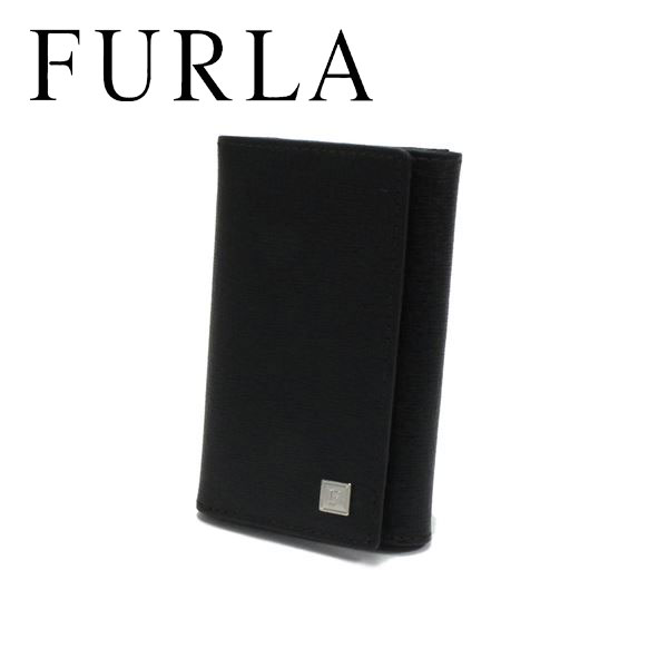 フルラ キーケース メンズ レディース FURLA key case ブラック 48B30SK1 O60 【送料無料♪】