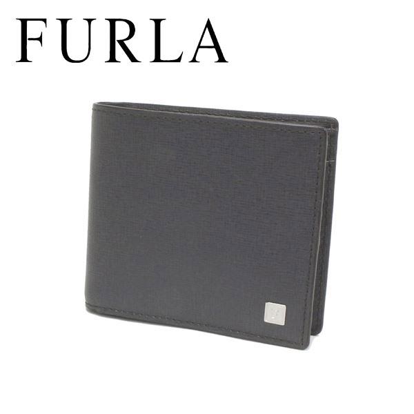 フルラ 二つ折り財布 メンズ FURLA Wallet グレー F6B30SK1 LVA 【送料無料♪】