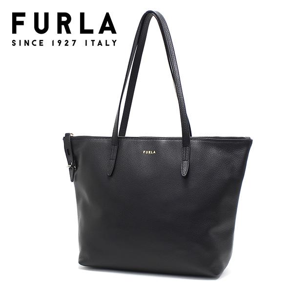 安値 新品 プレゼントにも最適 ギフト FURLA BAG Mサイズ バッグ 人気 アフターセール開催中 フルラ 送料無料 ブラック M レディース TOTE HSF000 WB00193 O6000 NET トートバッグ