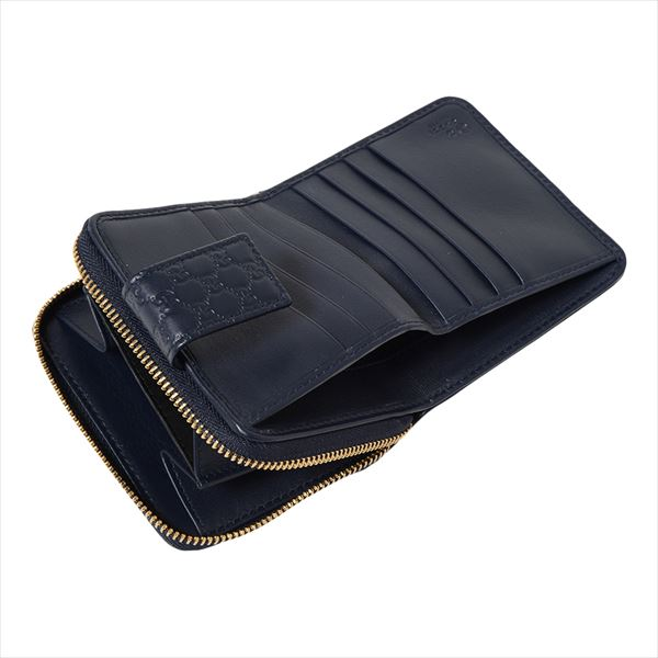 2a524011d453b3 MKcollection: Gucci folio wallet Lady's GUCCI Wallet MIDNIGHT BLUE ...