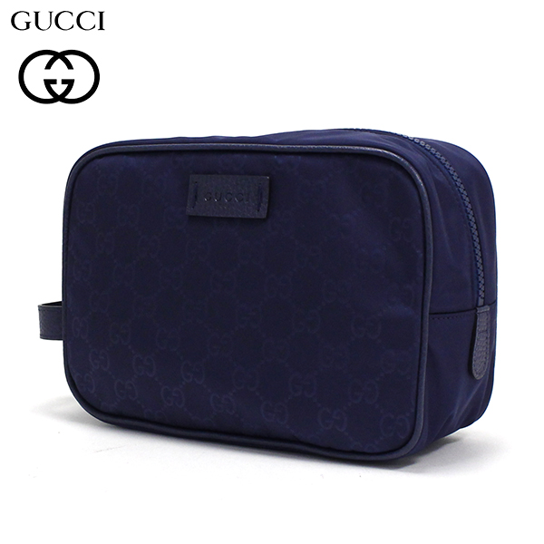 GUCCI セカンドバッグ クラッチバッグ メンズ GUCCI ポーチ ブルー系 GG柄 510338 K28AN 4275 【送料無料】