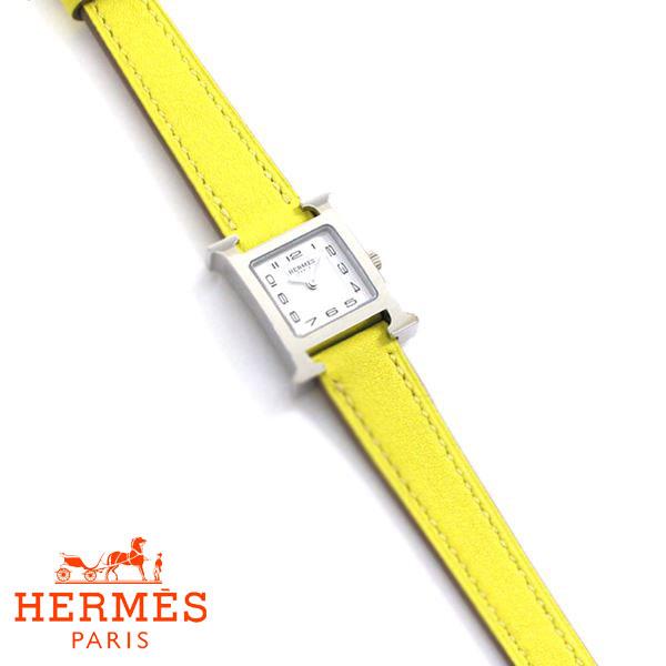 エルメス 腕時計 レディース HERMES Hウォッチ HH1.110.131/WW9R 時計 レザー 038956WW00 【送料無料♪】