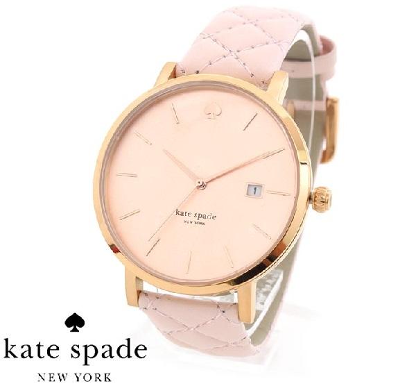 【SALE! 在庫限り】 ケイトスペード 時計 レディース Kate Spade GRAND METRO 腕時計 おすすめ レザー 1YRU0845 【当店全品送料無料♪】【あす楽】