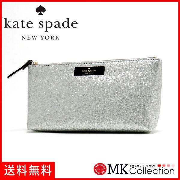 Kate spade porch Lady's KATE SPADE Bag silver WLRU2732-040
