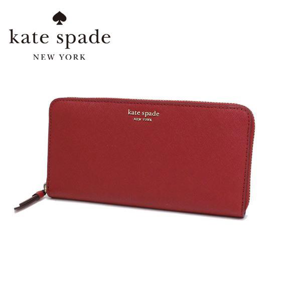 ケイトスペード 長財布 レディース Kate Spade Wallet ロッソ WLRU5448 638 【送料無料♪】