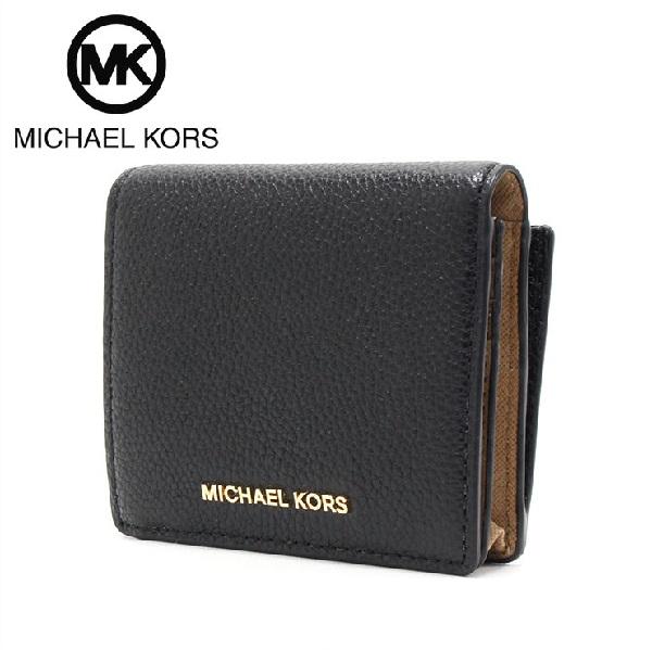 マイケルコース 財布 レディース MICHAEL KORS Wallet ブラック 32F6GM9D1L BLACK 【当店全品送料無料♪】【あす楽】