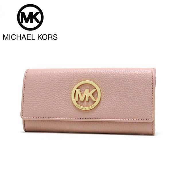 7d971bdc2232 Michael Kors long wallet Lady's MICHAEL KORS Wallet leather BLOSSOM/  Blossom 35F0GFTE1L BLOSSOM. Contact Shop