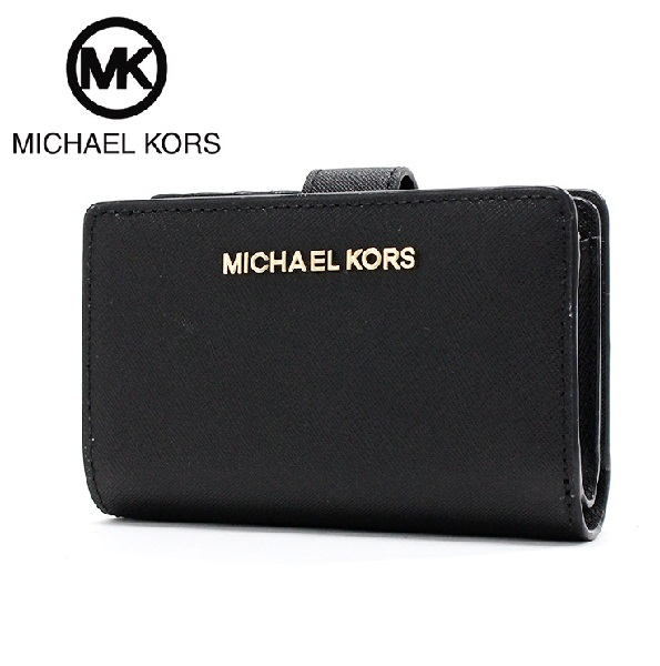 マイケルコース 財布 レディース MICHAEL KORS Wallet 35F7GTVF2L BLACK 【送料無料♪】【あす楽】 母の日