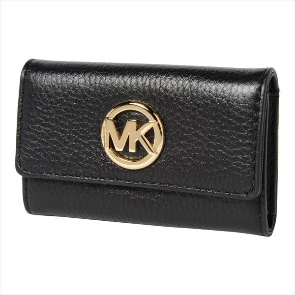 マイケルコース キーケース レディース メンズ MICHAEL KORS key case ブラック 35F8GFTP3L BLACK 【当店全品送料無料♪】