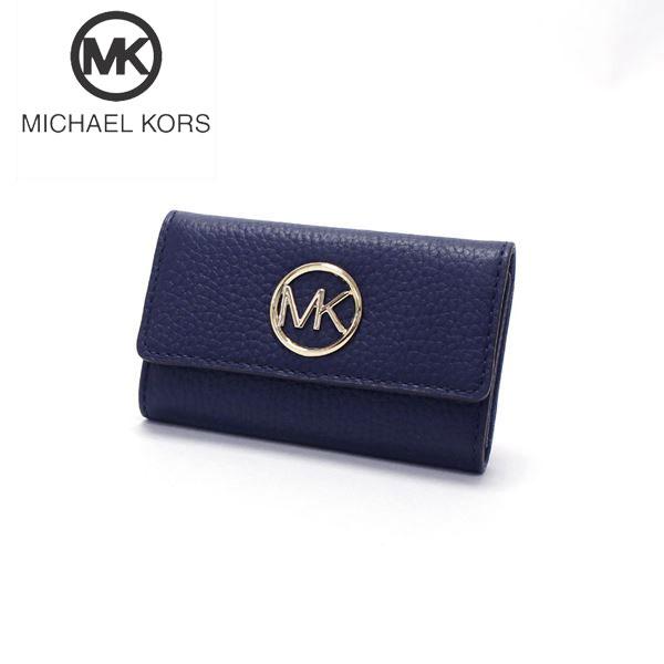 マイケルコース キーケース レディース MICHAEL KORS key case 35F8GFTP3L NAVY 【送料無料】