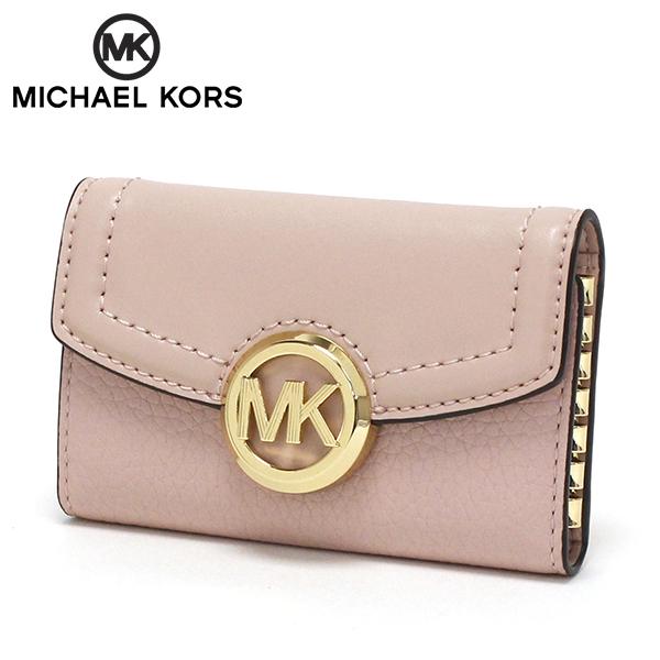 マイケルコース キーケース レディース MICHAEL KORS key case ピンク 35F9GFTP5L BLOSSOM 【送料無料♪】
