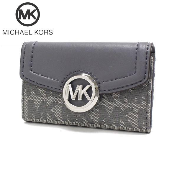 マイケルコース キーケース レディース MICHAEL KORS key case シグネチャー 35F9SFTP5J HGRYM 【送料無料♪】