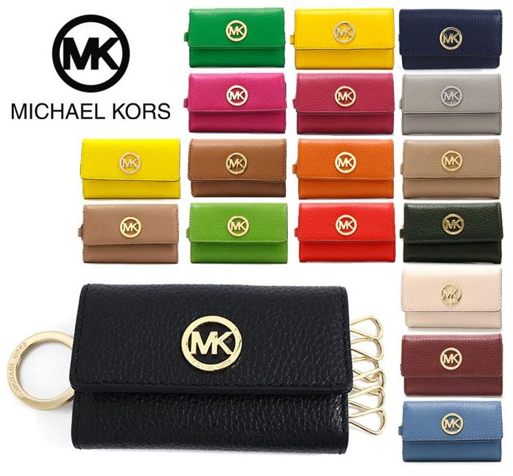 4d51a850433d Michael Kors key case Lady's MICHAEL KORS casual FULTON KEY CASE LEATHER  35H5GFTP3L ...