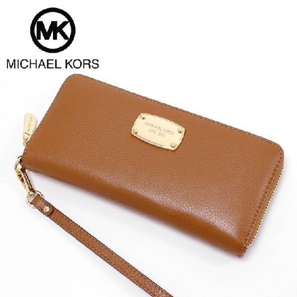 マイケルコース 長財布 レディース MICHAEL KORS Wallet ブラウン 35H5GTTZ3L LUGGAGE 【送料無料♪】【あす楽】