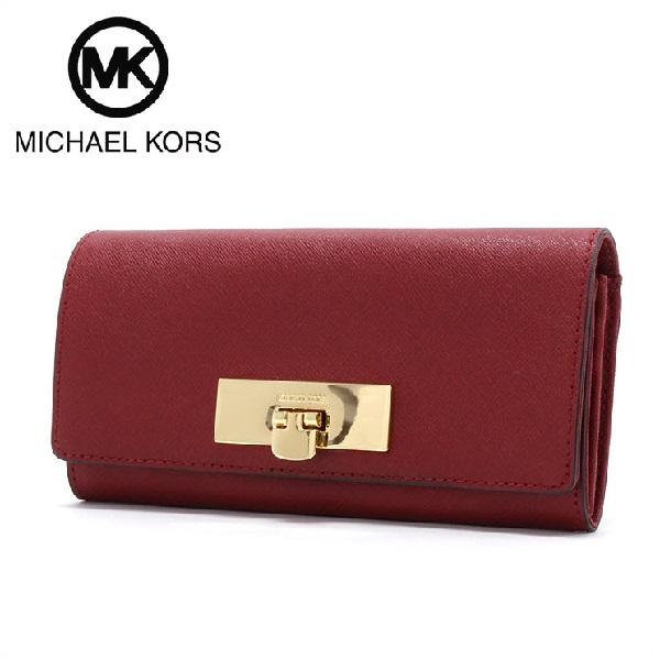 マイケルコース 財布 レディース MICHAEL KORS Wallet チェリー 35H6GYAE7L CHERRY 【当店全品送料無料♪】【あす楽】