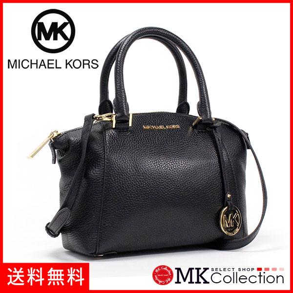 Michael Kors Shoulder Bag Lady S Handbag 2way Black 35s8grls1l
