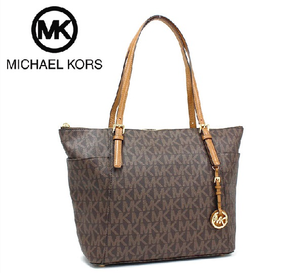 save off 27ba2 0cb95 Michael Kors tote bag Lady s MICHAEL KORS BRN ACORN 35S8GTTT9B ...
