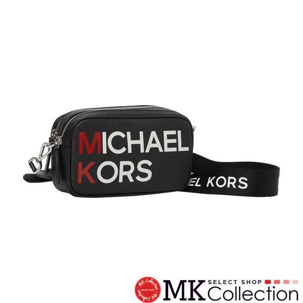 マイケルコース ショルダーバッグ レディース MICHAEL KORS 斜めがけ ブラック 35S9SLCM1V BLACK 【送料無料♪】