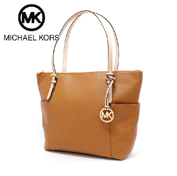 52b4c1ee7710e7 Michael Kors tote bag Lady's MICHAEL KORS BAG JET SET EAST WEST TOP ZIP TOTE  ACORN