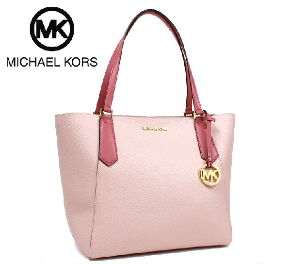 42ddabc5db2f16 MKcollection: Michael Kors tote bag Lady's MICHAEL KORS BLSM/TULIP ...