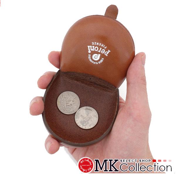 ペローニ コインケース メンズ レディース PERONI coin case ART594 LIGHTBROWN レザー 594