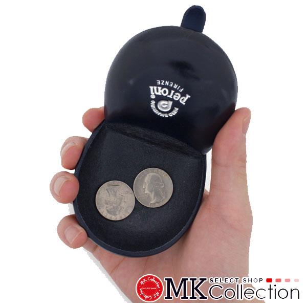 ペローニ コインケース メンズ レディース PERONI coin case ART594 NAVY レザー 594