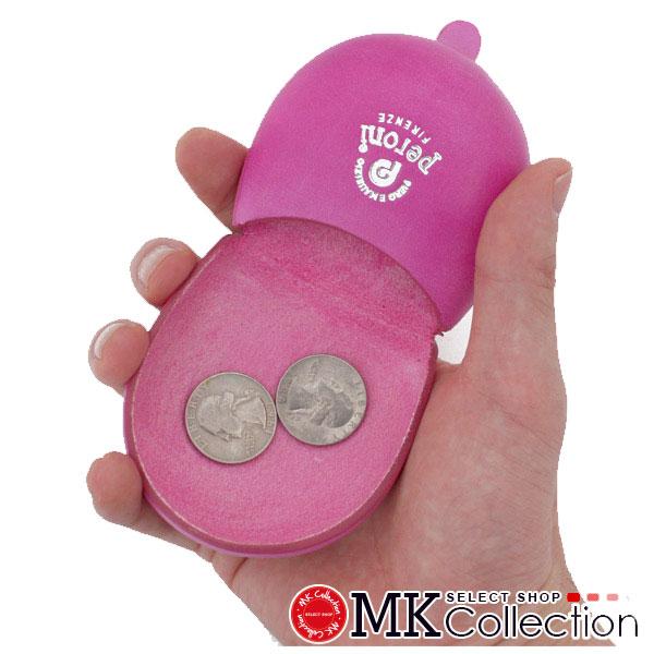 ペローニ コインケース メンズ レディース PERONI coin case ART594 PINK レザー 594