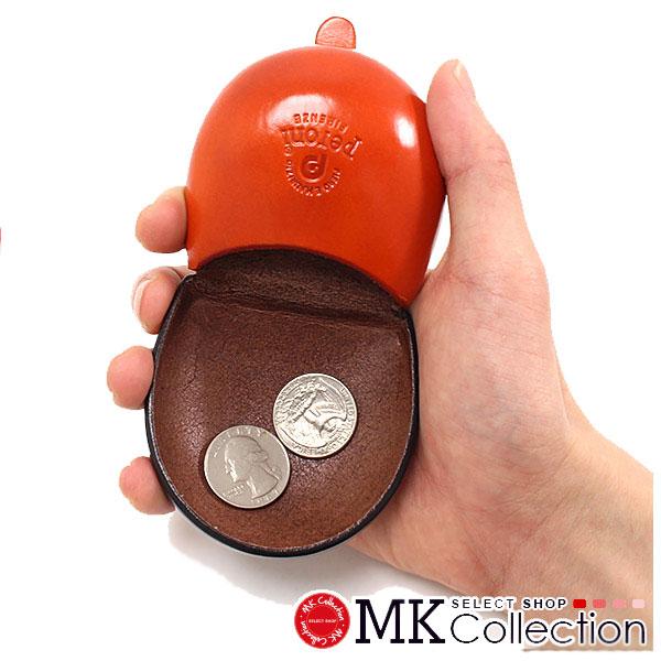 ペローニ コインケース メンズ レディース PERONI coin case BI594 BROWN/ORANGE レザー 594/BI