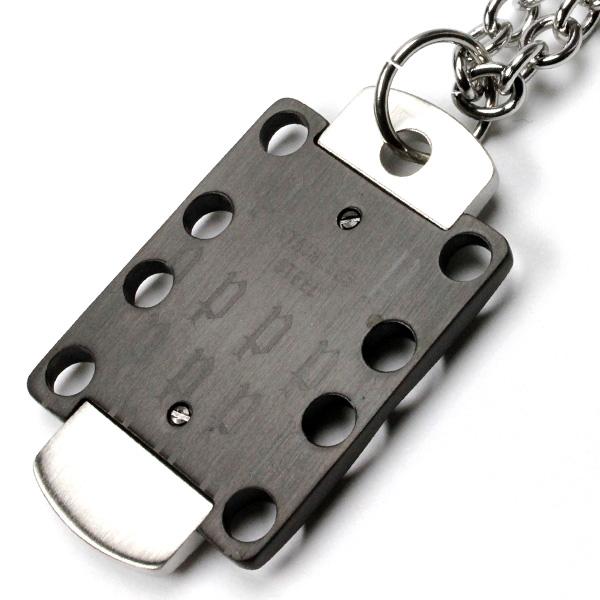 Police POLICE necklace BADGE24418PSB01 0824 Rakuten card splitter 02P01Oct16