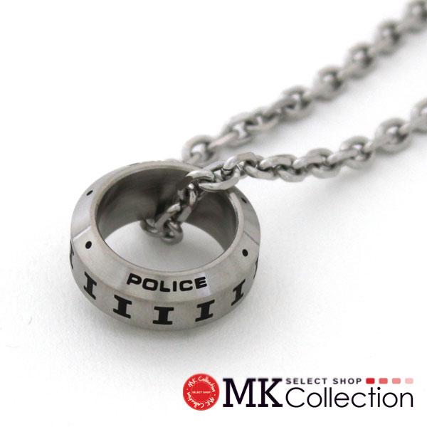 ポリス ネックレス メンズ レディース 国内正規品 POLICE アクセサリー 25139PSS01 【送料無料♪】
