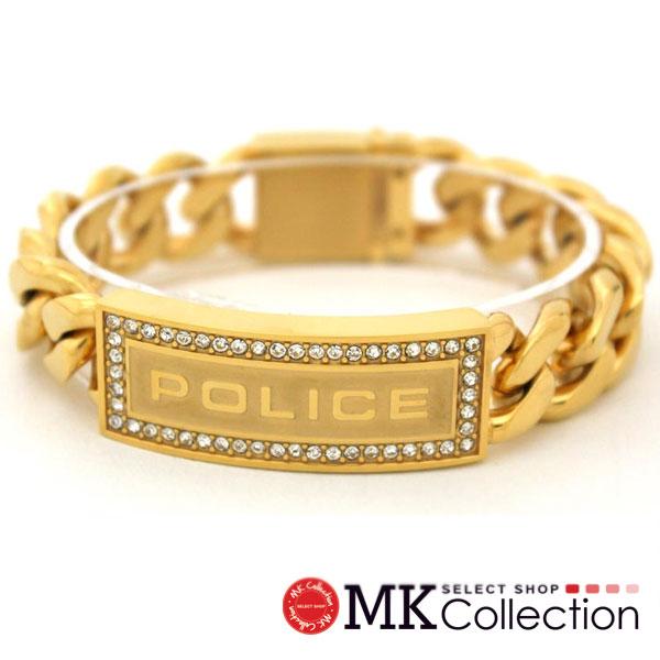 ポリス ブレスレット メンズ 国内正規品 POLICE アクセサリー 25143BSG01 【送料無料♪】