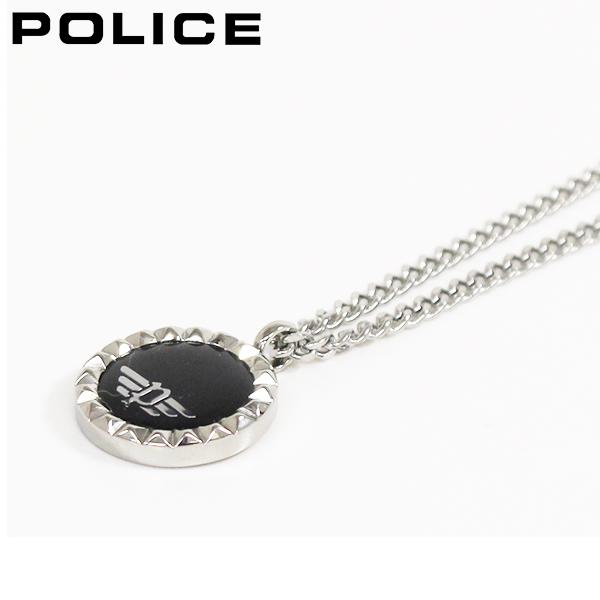 ポリス ネックレス メンズ 国内正規品 POLICE アクセサリー オニキス VERNAZZA 26515PSS02 【送料無料♪】
