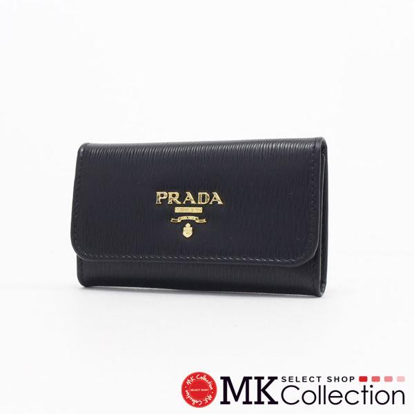 プラダ キーケース レディース PRADA key case  ブラック 1PG222 2B6P F0002 【送料無料♪】