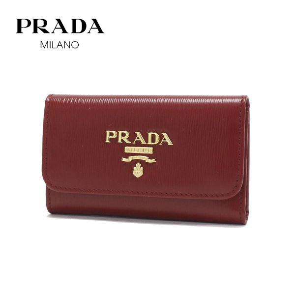 プラダ キーケース レディース PRADA key case RUBINO レッド 1PG222 2B6P F0041 【送料無料♪】