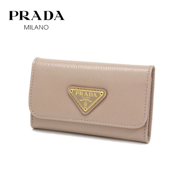 プラダ キーケース レディース PRADA key case CIPRIA ベージュ系 1PG222 2DDU F0236 【送料無料♪】