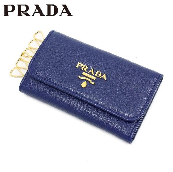 プラダ キーケース レディース PRADA Key Case INCHIOSTRO/ブルー系 1PG222 2E3A F0021 【当店全品送料無料♪】【あす楽】