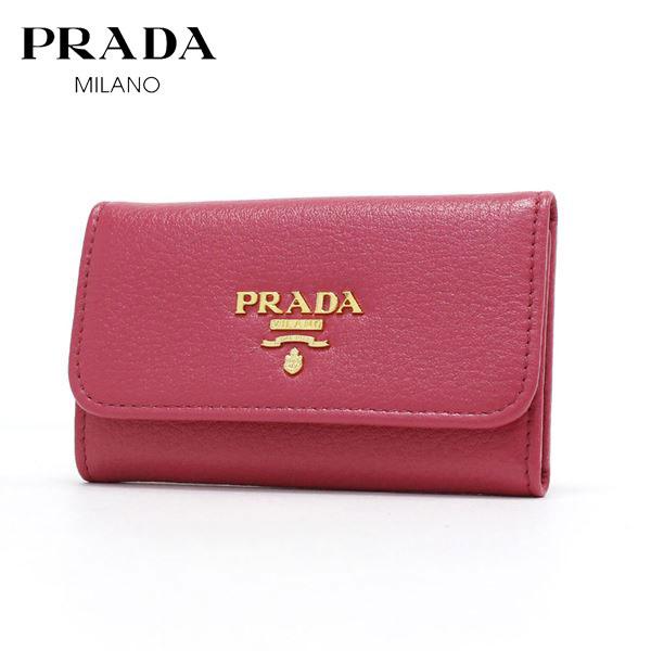 プラダ キーケース レディース PRADA key case PEONIA 1PG222 2E3A F0505 【送料無料♪】