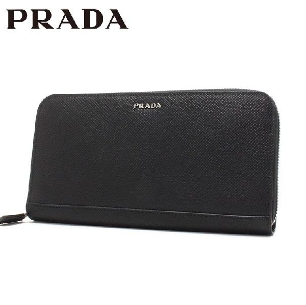 プラダ 財布 メンズ PRADA Wallet NERO 2ML317 2BB8 F0002 【当店全品送料無料♪】【あす楽】