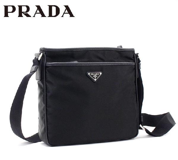 プラダ バッグ メンズ レディース PRADA ショルダーバッグ ブラック 2VH797-2E9S F0002 【当店全品送料無料♪】【あす楽】