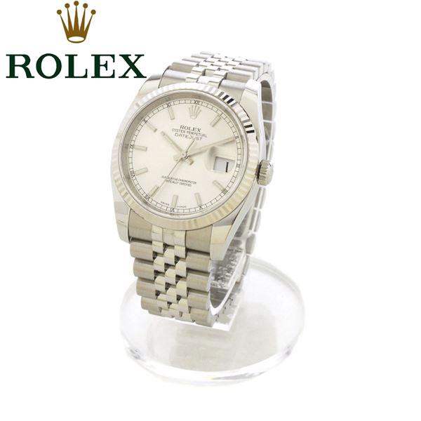 ロレックス 腕時計 メンズ ROLEX デイトジャスト 時計 116234 シルバー 【送料無料】