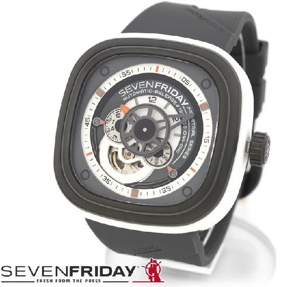 セブンフライデー 時計 メンズ 正規品 SEVENFRIDAY 腕時計 自動巻 SF-P3/03 【当店全品送料無料♪】【あす楽】